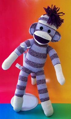Sock Monkey from Schylling