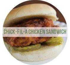 Homemade Chick-Fil-A Chicken Sandwich