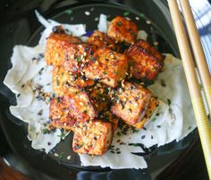 Food: Eleven Delish Tofu Recipes  (via Spicy Lemongrass Tofu | Hot from my oven)