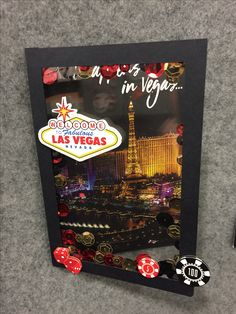 Vegas card made from the Reminisce Vegas collection.