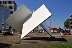 Homage to Oud and van Doesburg Theo Van Doesburg, Giza, Stonehenge, Land Art, Rotterdam, Utah, Opera House, Nyc, Sculpture