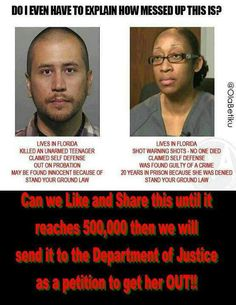 Please people. Help this lady get free. Show some heart & support!! She needs every bit of it from all of us!! http://www.change.org/petitions/free-marissa-alexander