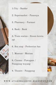 20 Learn Malay Through English Beginner Level Ideas Malay Language Beginner Lesson English For Beginners