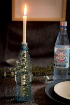 Einfache Tischdeko nicht nur Weihnachten oder Ostern. Tischdeko selber machen mit viel Natur. #diy #deko #tischdeko Cleaning Supplies, Soap, Bottle, Blog, Jewelry Making, Diys, Diy Presents, Creative Ideas, Diy Decoration