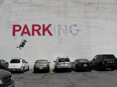 yeah, banksy. and i like it.