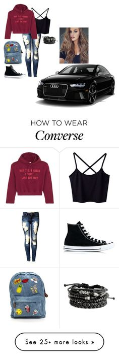 """Untitled #397"" by jbird5601 on Polyvore featuring Converse and Vetements"