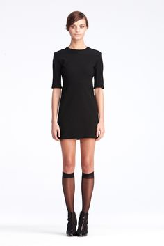 DVF   Oka Dress In Black, Pre-Fall 2012: Macadam Diva