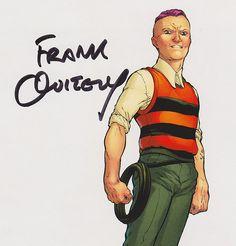 Quentin Quire - Frank Quitely