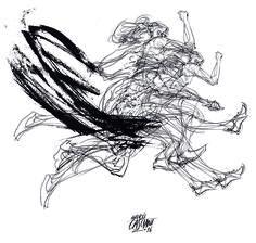 """""""Los hijos de los días"""" - Galeano ilustrado por Casciani 12/8 - acá podés leer el texto:http://andrescasciani.blogspot.com.ar/2016/08/los-hijos-de-los-dias-galeano-ilustrado_53.html"""