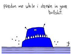 Drown. #GAPINGVOID
