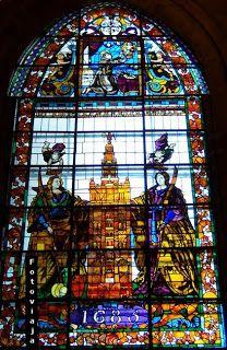 Vidriera Catedral de Sevilla