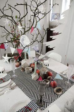 la table lapartybox, christmas scandinave