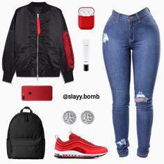 Swag Outfits For Girls, Chill Outfits, Cute Swag Outfits, Teenager Outfits, Dope Outfits, Teen Fashion Outfits, Cute Fashion, Trendy Outfits, Women's Fashion