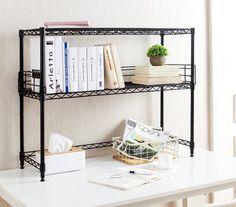 College Dorm Bookshelves - Cheap Dorm Furniture Dorm Desk Bookshelves For College Desk and Dorm Room Steel Bookshelf, Bookshelves, Black Bookshelf, Small Bookcase, Bookshelf Desk, Black Desk, Dorm Room Designs, Office Designs, Dorm Room Organization