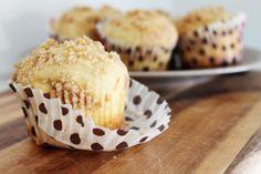 Eggnog Muffins - super delicious and a little bit low fat.