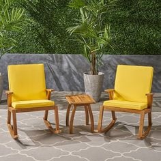 Geist 3 Piece Seating Group with Cushions