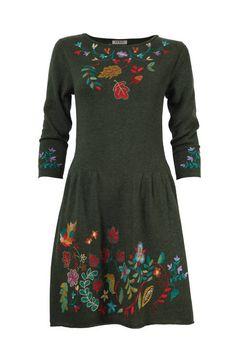 Dress Forest Motifs - Dress | Ivko Woman