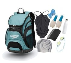 """""""what's in my swim bag"""" by maevekaterina ❤ liked on Polyvore featuring interior, interiors, interior design, home, home decor, interior decorating, Speedo, NIKE and S'well"""