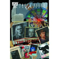 The Lone Gunmen - X-Files: Conspiracy #1 - IDW