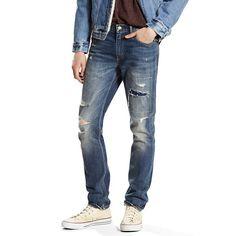 Men's Levi's® 511™ Slim Fit Stretch Jeans, Size: 30X32, Med Blue