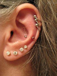 lobes piercing