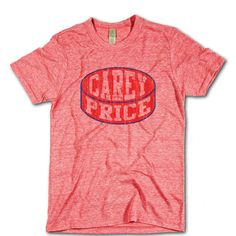 Carey Price NHLPA Officially Licensed Montreal Tshirt by 500LEVEL