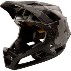Fox Racing Proframe Camo Helmet - black Camo - S, black Camo at Cycling Bargains Dirt Bike Helmets, Bicycle Helmet, Fox Racing, Motocross, Online Bike Store, Full Face Helmets, Camo Outfits, Outfit, Motorcycle Helmets
