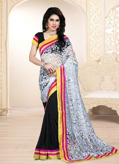 http://www.sareesaga.in/index.php?route=product/product&product_id=23048 Style:Designer SareeShipping Time:10 to 12 Days Occasion:Festival CasualFabric:Brasso Georgette Colour:Black White Work:Lace More Details Product FAQ Reviews For Inquiry Or Any Query Related To roduct, Contact :- 91-9825192886, +91-405449283