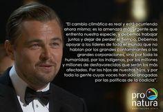 Sí, si vale la pena compartir la reflexión de Leonardo DiCaprio durante los #PremiosÓscar2016 colegas #LunesparaCompartir #ColectivoGentedePapel #ConsumeCultura