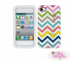 Monogrammed Tough Stuff Iphone Case for Iphone 4