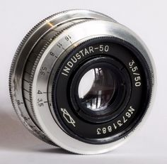 Industar-50 50mm 3.5 Pancake Camera Lens M39 Mount #Industar