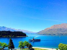 The Earnslaw on Lake Wakatipu ##Queenstown