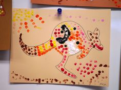 Little Hiccups: Aboriginal Dot Art Activity