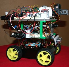 Nellie is a 3D-printed weed-picking robot. #Atmel #Arduino #3DPrinting #Robotics #Robots