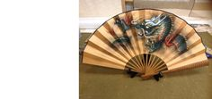 Chinese Hand Fan - Dragon