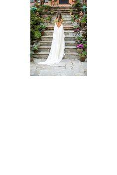 la mariée aux pieds nus robe mariée bohème
