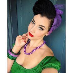 Vintage Purple Nylon Head Scarf retro burlesque Pin Up rockabilly... ($9.99) ❤ liked on Polyvore featuring accessories, scarves, purple handkerchief, nylon scarves, vintage scarves, purple bandana and purple shawl