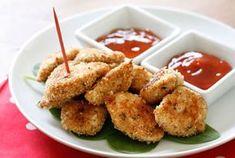 Nuggets de poulet Weight Watchers,recette des croquettes de poulet enrobées d'une chapelure croustillante, facile à faire pour des repas gourmands.