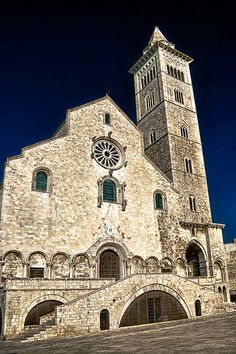 Cathedral of San Nicola Pellegrino - Italy Places In Italy, Places To See, Gran Tour, Castel Del Monte, Italian Romance, Best Of Italy, Regions Of Italy, The Beautiful Country, Kirchen