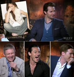 "Cast reactions when they found out they guessed VERY wrong whose feet they were seeing... poor Evangeline lol ""Literally, when we revealed the identity of one ""Hobbit"" star's feet, Cumberbatch said ""Oh my god! F---!"" Richard Armitage feared retribution, Freeman couldn't stop laughing, and Luke Evans widened his eyes to the size of saucers in disbelief — which soon turned into deep regret"""