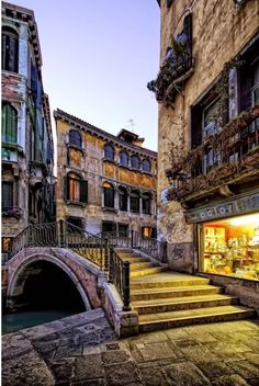 Venice at dusk. by Riccardo Zimmitti - Venice, my favorite place on earth! Places Around The World, The Places Youll Go, Places To See, Around The Worlds, Dream Vacations, Vacation Spots, To Infinity And Beyond, Venice Italy, Italy Travel