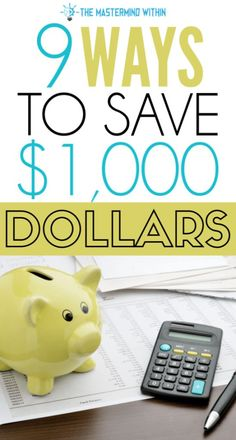9 ways to save thousands of dollars every year Save Money On Groceries, Ways To Save Money, Money Tips, Money Saving Mom, Budgeting Tips, Budgeting Finances, Frugal Tips, Money Matters, Money Management