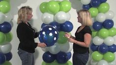 How to make a DIY Balloon Arch and Column. Latex Arch and Column Kit.