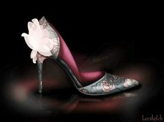 Shoes inspired by Disney Princess Aurora