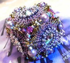 bluepearls Perlen: Geoflower