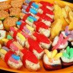 Twinkie and Rice Krispies Treat Sushi -
