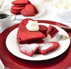 #pancake #pancakeart #pancakes #redvelvet #red #valentines #redvelvetpancake #pancakeflavours #breakfastjoy #breakfast #goodmorning #goodfood #kitchenlife #kitchentools  Yummery - best recipes. Follow Us! #kitchentools #kitchen