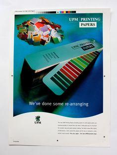 Agency: Contra 1998 Client: UPM  Ad: Ale Lauraéus, Copy: Pasi Leino Photographer: Ari Talusen