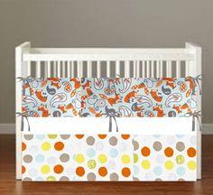 Fox Friends woodland Crib Bedding *more choices* Forest Nursery Decor Woodland Nursery Decor