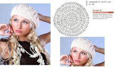 Crochetpedia: Whole bunch of hats! Crochet Baby Hat Patterns, Chunky Knitting Patterns, Crochet Baby Hats, Love Crochet, Knitted Hats, Bonnet Crochet, Crochet Beret, Crochet Shoes, Crochet Yarn